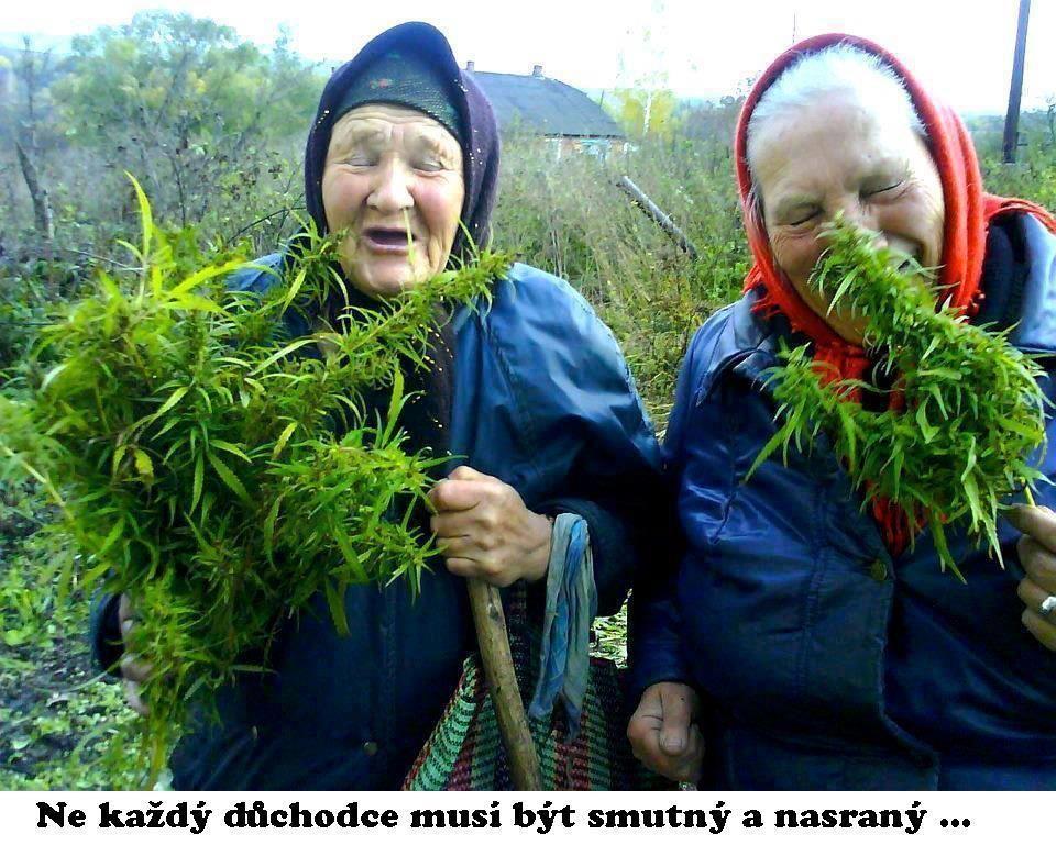 Veselí důchodci