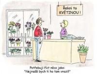Řekni to květinou