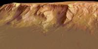 Stěny kráteru Olympu, foto Zeiss
