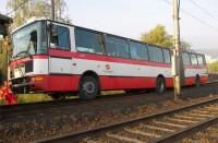 Autobus na tramvajových kolejích?