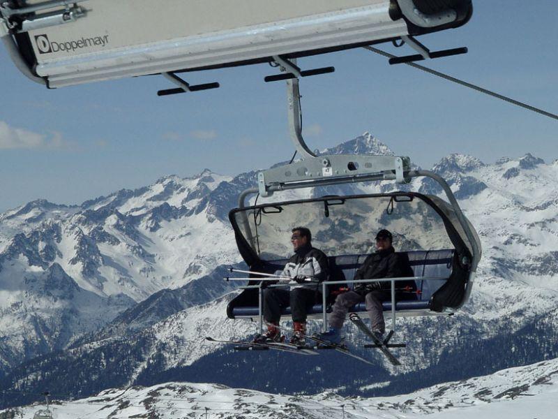 Lyžování ve Val di Sole