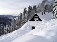 Zima 2005 v Rokytnici nad Jizerou