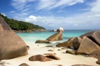 Anse Lazio ostrov Praslin Seychely