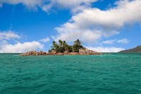 Ostrov St Pierre Karibik