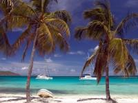 Pláže Tobago Cays Grenadiny Karibik