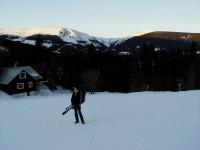 Sněhová vzpomínka na loňskou zimu