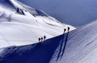 Cestou na Mont Blanc, Francie, Evropa