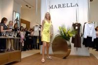 Některé z modelů firmy Marella předvedla Česká miss Lucie Hadašová