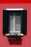 Okna a dveře ostrova Burano