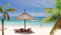 Pláž, ostrov Mauricius, Indický oceán
