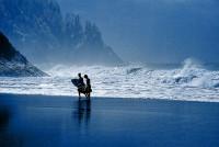 Neskowin Beach, Oregon, USA, Severní Amerika