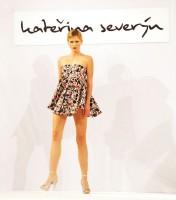 Foto z módní přehlídky Kateřiny Severýn