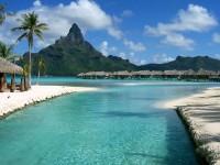 Jeden z resortů na Bora Bora