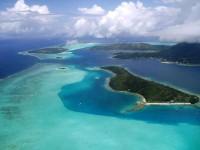 Přílet na Bora Bora