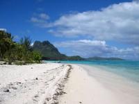 Ve Francouzské Polynésii čekají dlouhé písečné pláže