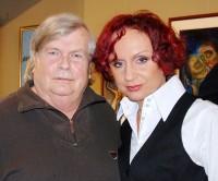 Petra Janů s textařem Pavlem Vrbou