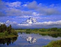 Reflexe hory Mt. Moran