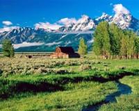 Majestátní Tetonské pohoří
