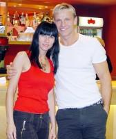 Martin Maxa s moderátorkou Helenou Jandovou