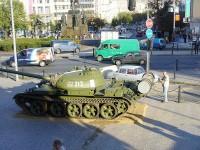 Ondřej Neff fotí ruský tank