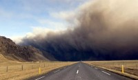 Oheň a led sopky Eyjafjallajökull
