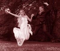 Hurá, jsme novomanželé
