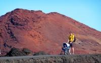 Sopečný kráter v Hervideros