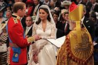 Svatební obřad vedl arcibiskup z Canterbury