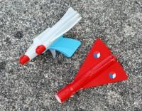 Letadla - červené - výrobce ŽBS