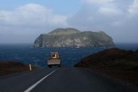 Bagr, ostrov a Atlantik