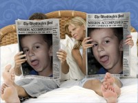 Píšou o mně v novinách