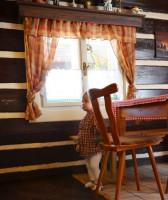 Hanapetr je nádherná stará dřevěná chalupa