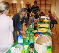 Stůl s dobrotami