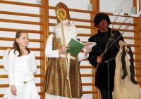 Už jsou tady - anděl, Mikuláš a Čert