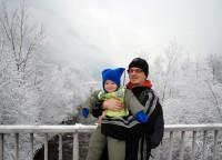 Mayrhofen je celý pod sněhem