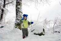 Pořád běhám a hraju si ve sněhu