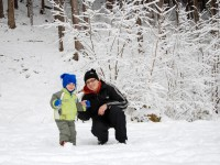 S tátou u lesa