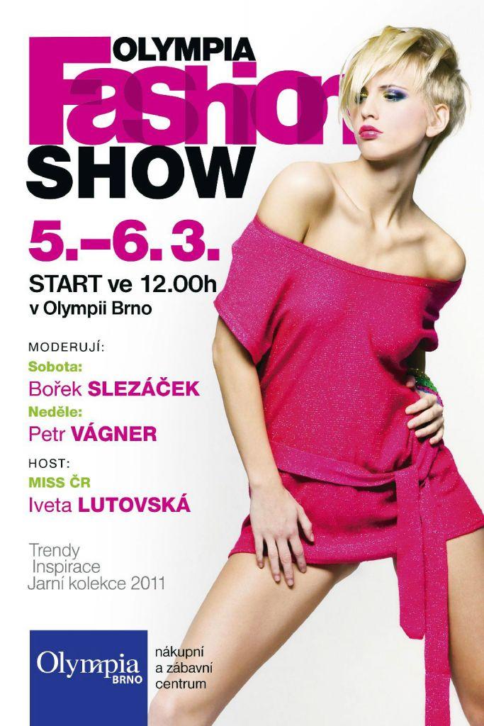 Trendy, inspirace, zábava na Jarní Fashion Show v brněnské Olympii
