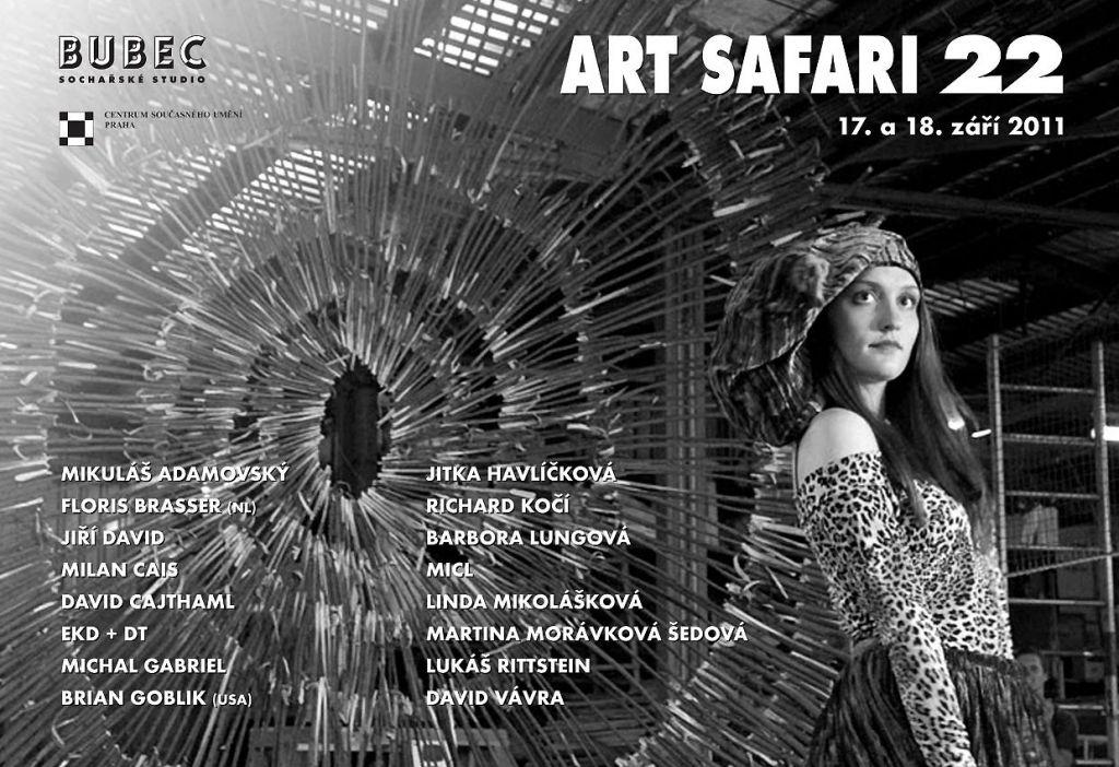 Art Safari 22 v Socharskem studiu Bubec