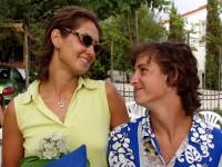 Zamilované pohledy novomanželů Hájkových