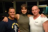 Trenéři fitness centra Tonda a Radek