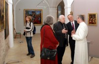 Milan Knížák v galerii Strahovského kláštera