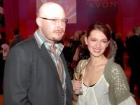 Lumír Mati s přítelkyní Sandrou Vídeňskou