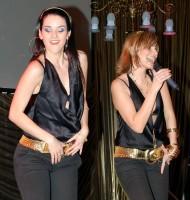 Libuška Vojtková a Monika Absolonová
