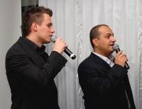Leoš Mareš s Patrikem Hezuckým