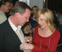 Štěpánka Duchková vyzkoušela parfém na svém příteli Janu Hruškovi