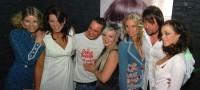 Sámer, Kateřina a Jirka s modelkami butiku Arabella Fashion