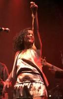 Zpěvačka romské kapely Gulo čar