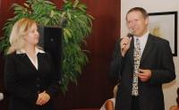 Eva Žáková s Jaroslavem Flejberkem