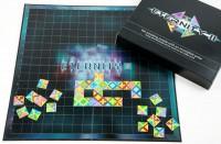 Takto budou vypadat barevné geometrické díly puzzle Eternity II